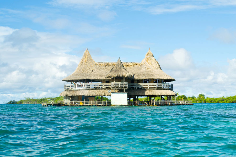 Casa en el mar isla privada alquiler por d as cartagena - Casas en el mar ...