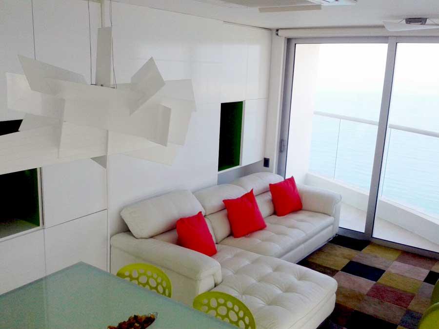 Arriendo palmetto eliptic cartagena apartamentos amoblados for Decoracion apartaestudios