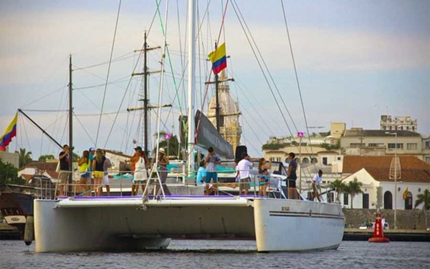 Catamaran en Cartagena