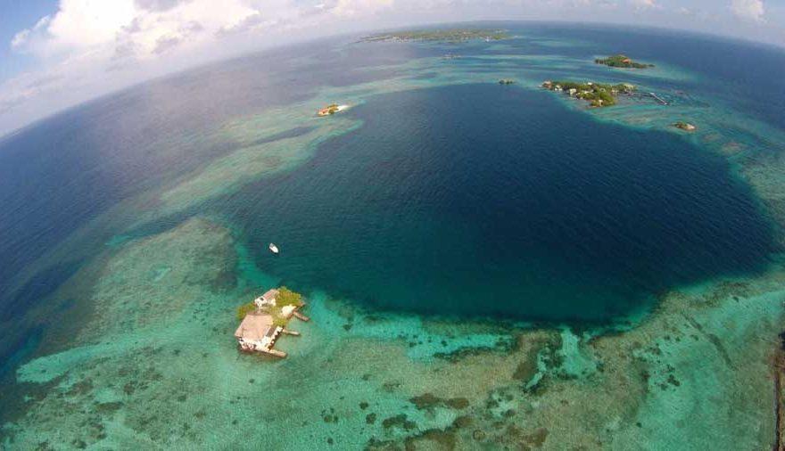 Vista aerea Islas del Rosario