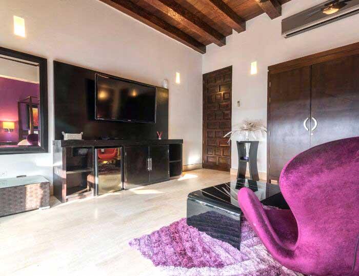 Habitación de alto standing en Cartagena Colombia