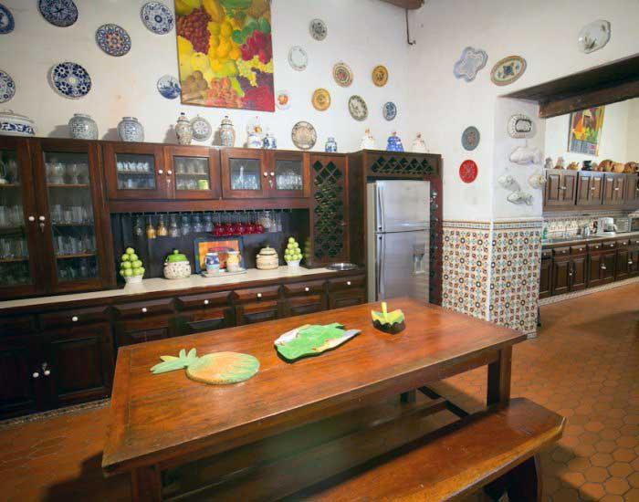 vista zona descanso casa boutique cartagena