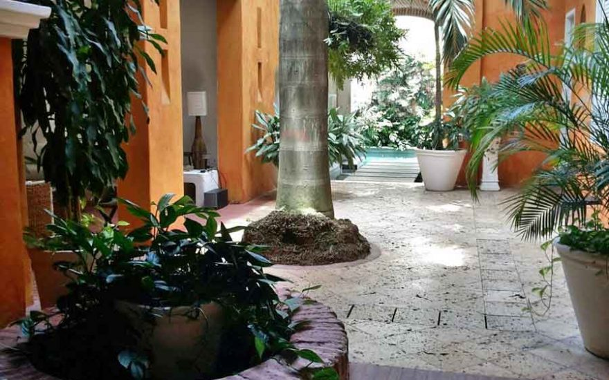Piscina Boveda Casa Cartagena de Indias