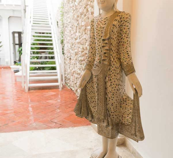 Casa Centro Cartagena | Estatua decorativa