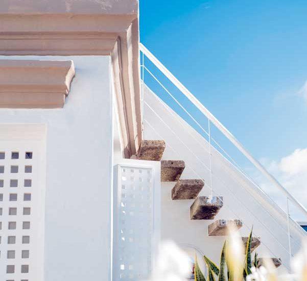 Casa Centro Cartagena | Escaleras Terraza