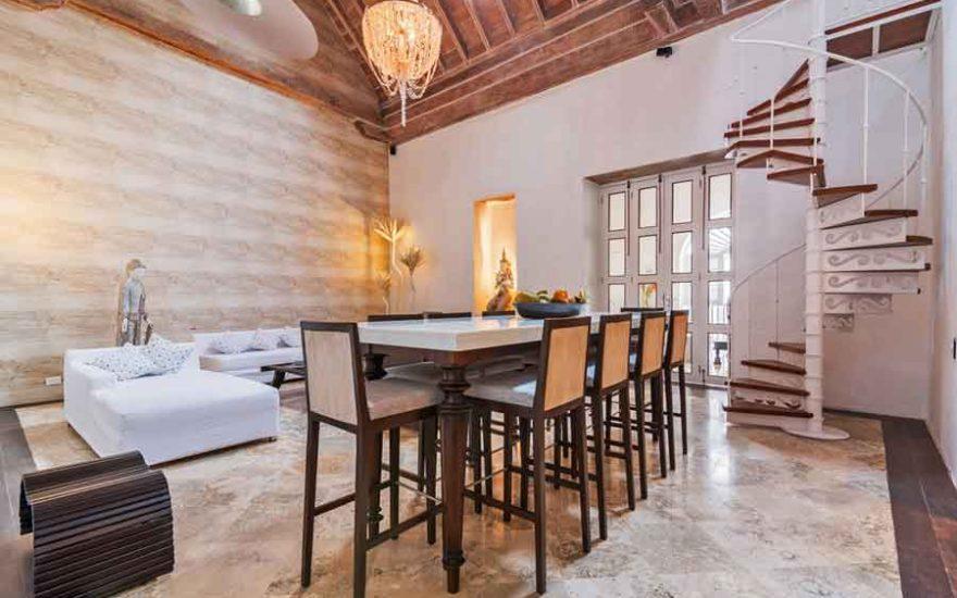 Casa Centro Cartagena | Vista sala comedor
