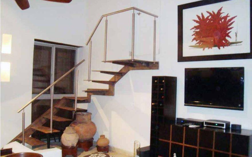 Casa del Virrey Eslava Cartagena   Escaleras