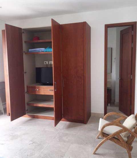 Alquiler Casa del Virrey Eslava | Tv y armarios