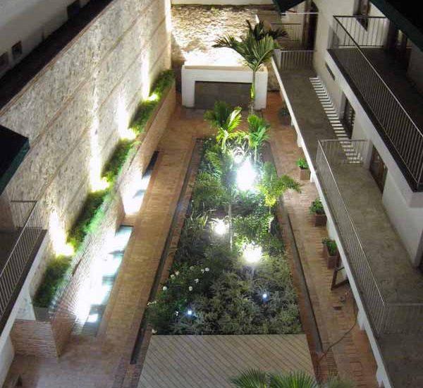 Alquiler Casa del Virrey Eslava   Vista áerea Condominio