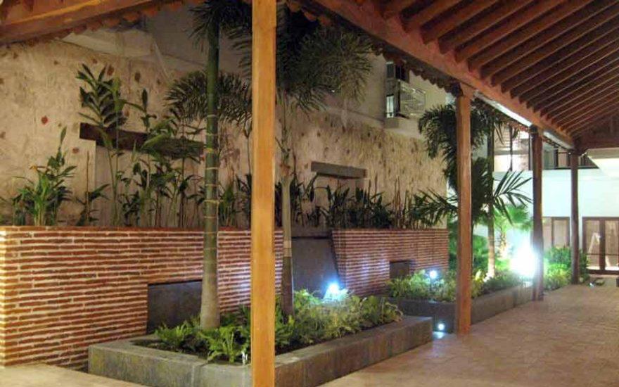 Alquiler Casa del Virrey Eslava | Jardín