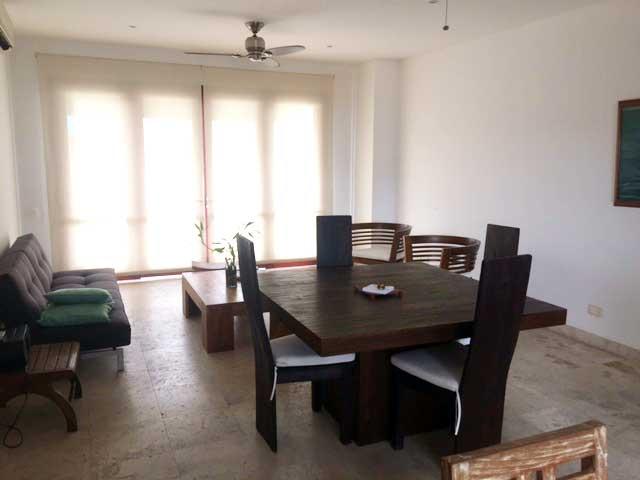 Alquiler Casa del Virrey Eslava | Comedor