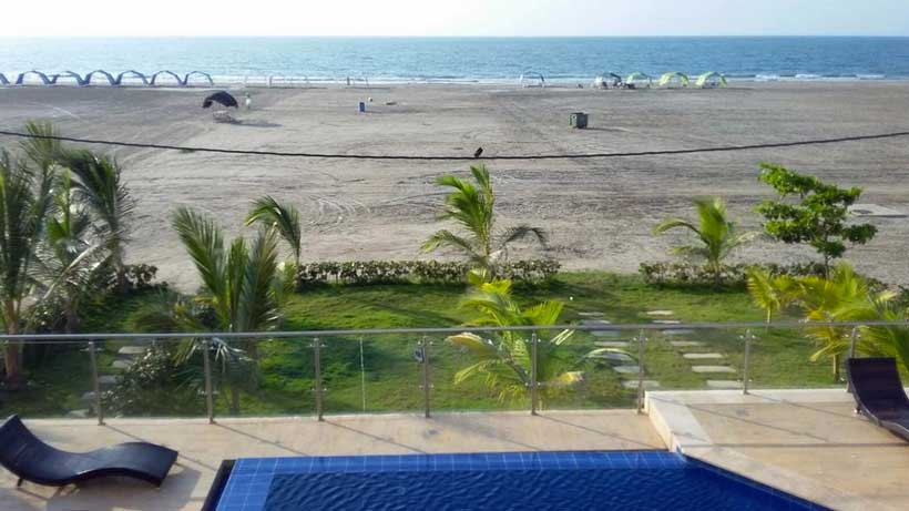 Vista Playa Zona Norte Cartagena