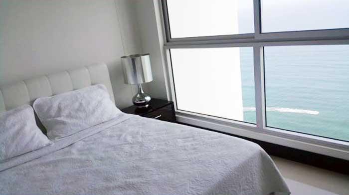Vista cama doble apto Palmetto Eliptic