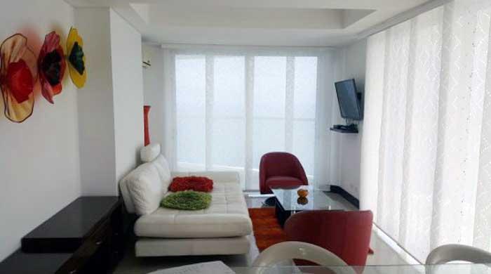 Sala Apartamento Palmetto Eliptic