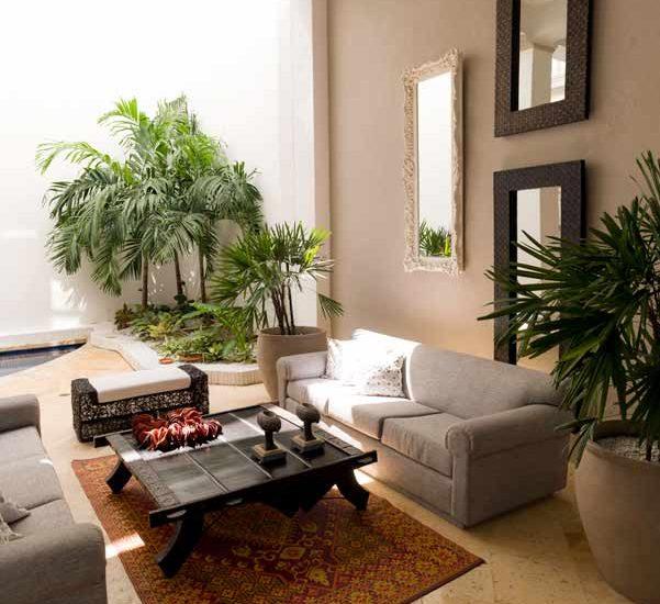 Casa lujo Colombia   Salon