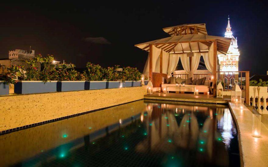 Vista de Casa de lujo en cartagena