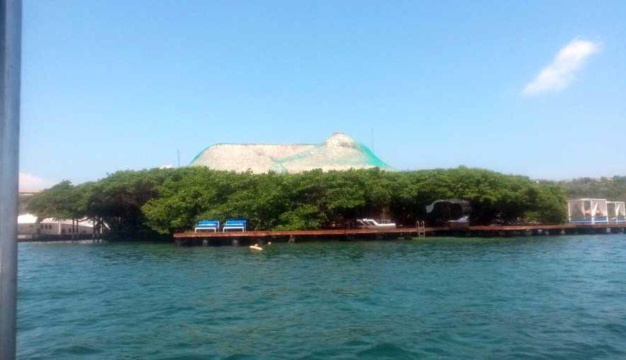 Vista Sala de la Isla