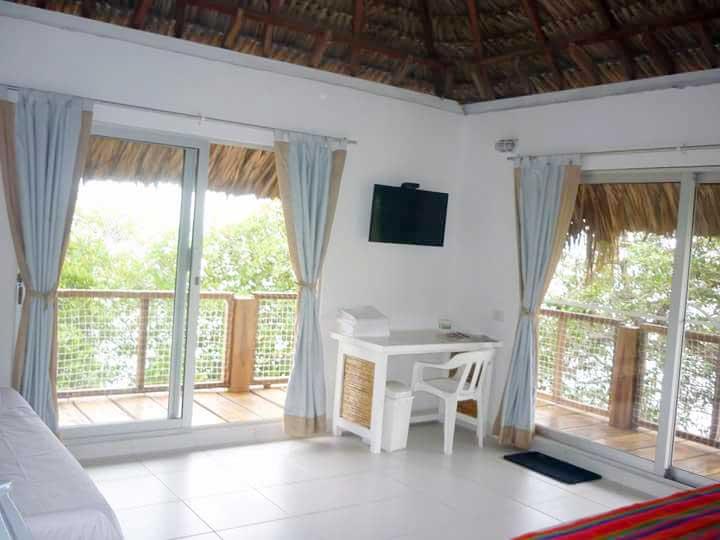 Vista Suite en la Isla San Bernardo Cordoba