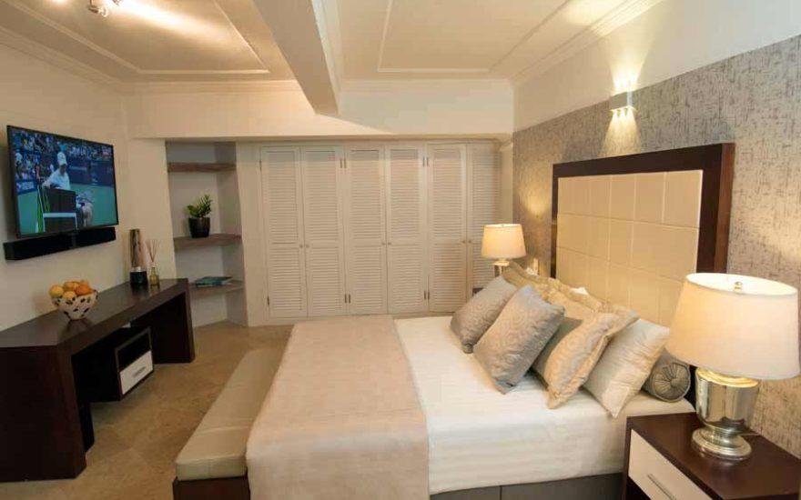 Vista habitación exclusiva en Cartagena