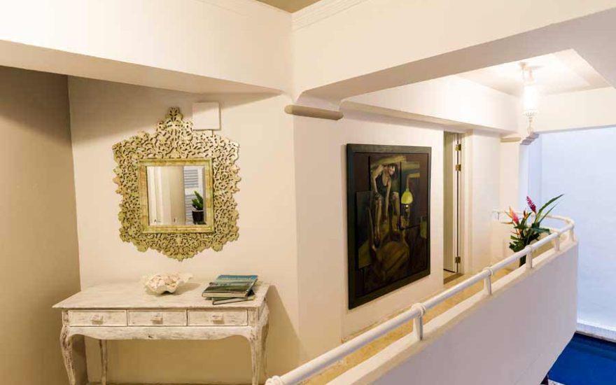 Hall de casa de lujo
