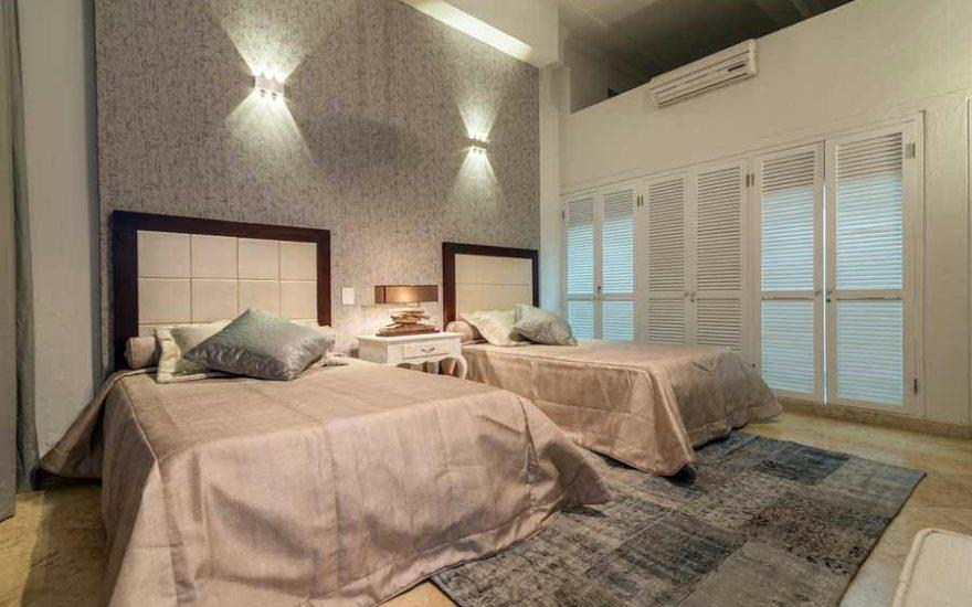 Vista habitación de casa en cartagena