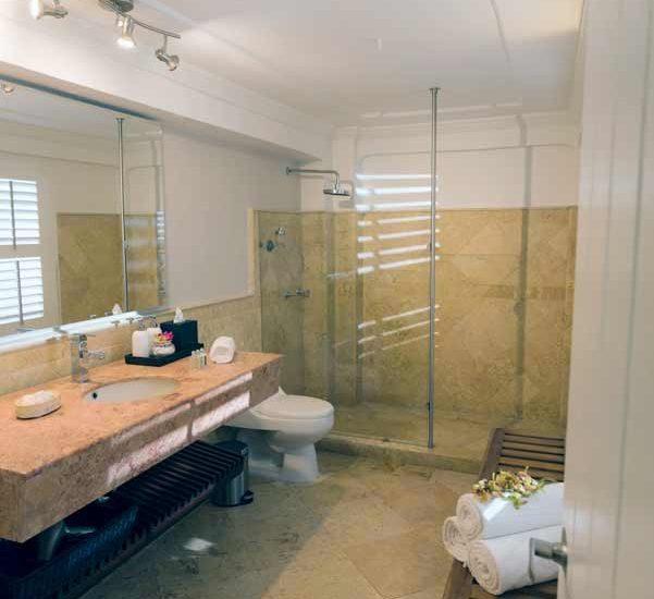 Vista cuarto de baño
