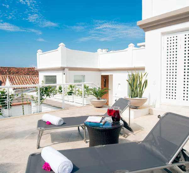 Terraza de Casa de lujo en Cartagena
