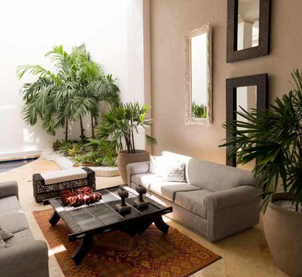Piscina interior de casa en el centro de cartagena