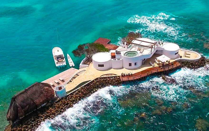 Vista de Sala Isla islas del Rosario