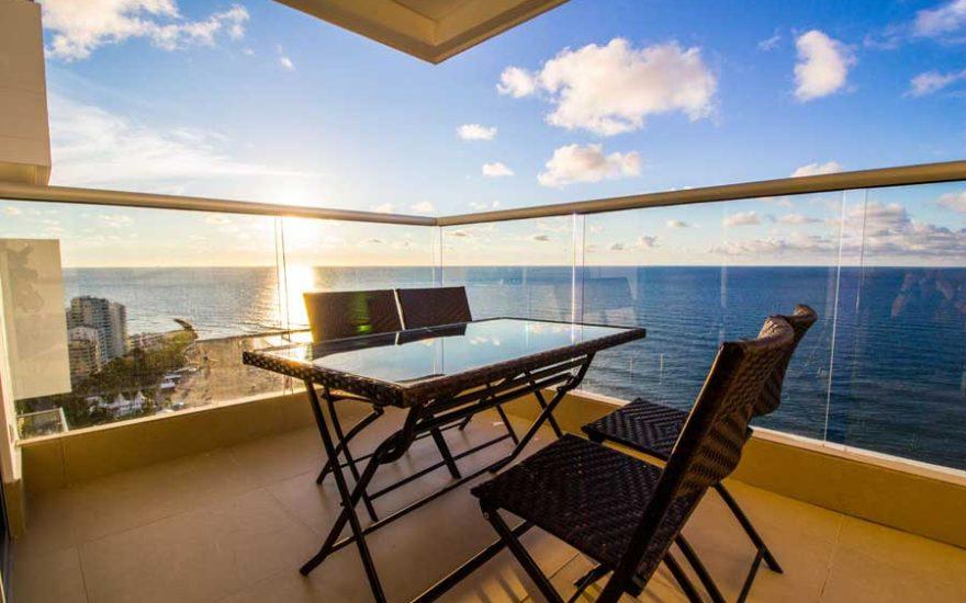 Vista desde la Terraza Apartamento Palmetto Beach Cartagena