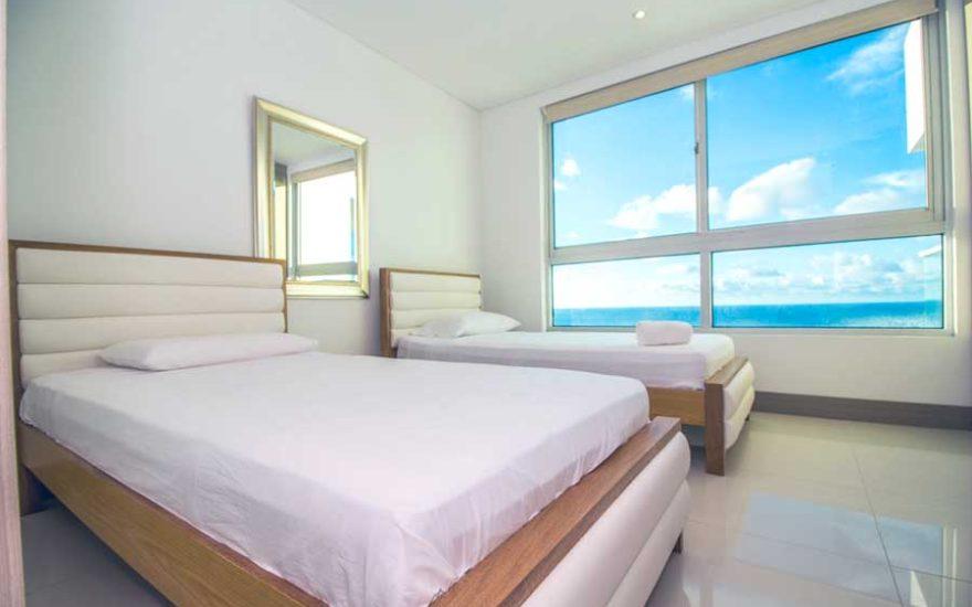 Habitación de dos camas Palmetto Beach Cartagena de Indias