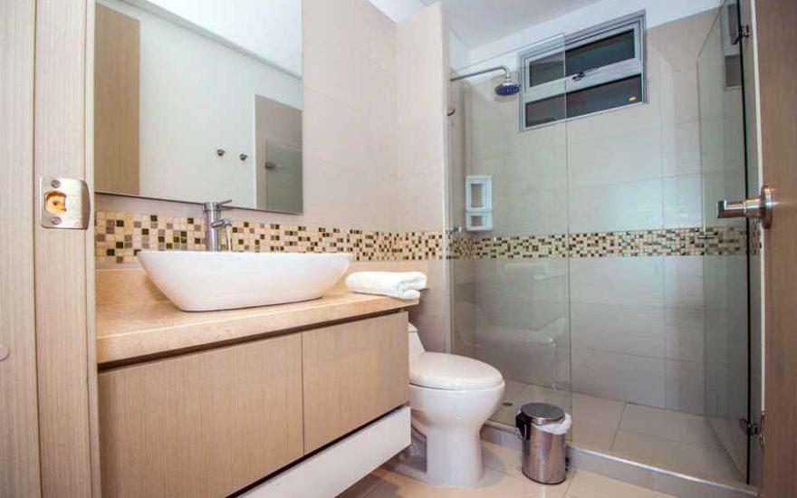 Baño Apartamento Palmetto Beach Cartagena