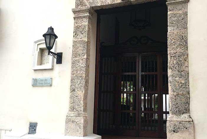 Entrada Casa del Virrey Eslava