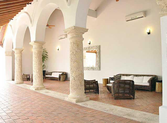 Areas y salones Casa del Virrey Eslava