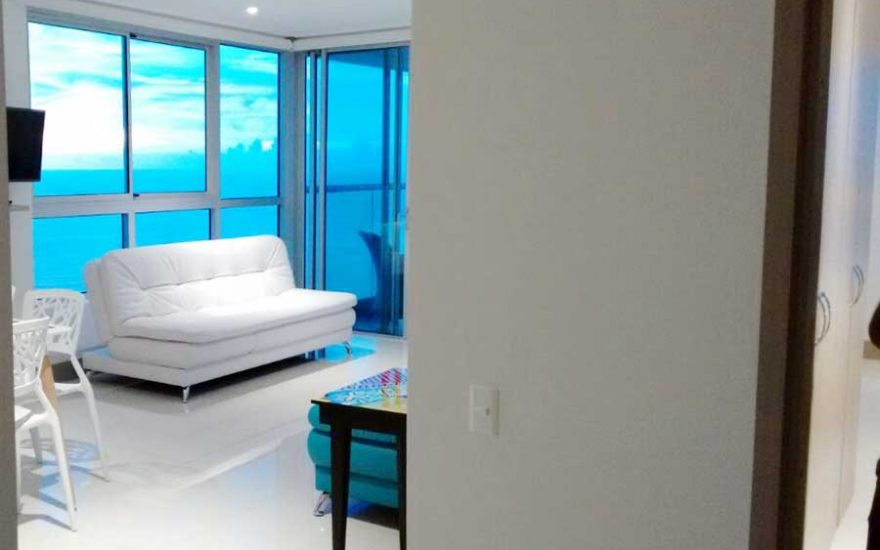 Hall apartamento Palmetto Beach