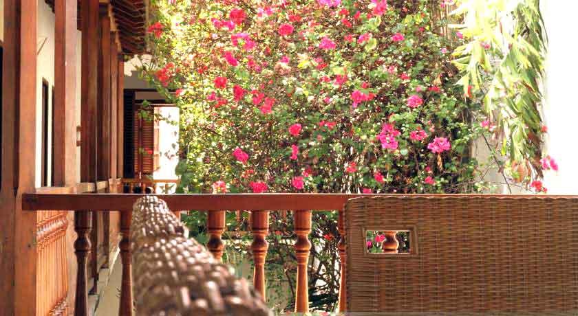 Balcón casa colonial Cartagena de Indias