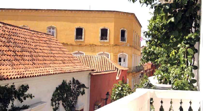 Vista desde terraza Casas Centro Cartagena