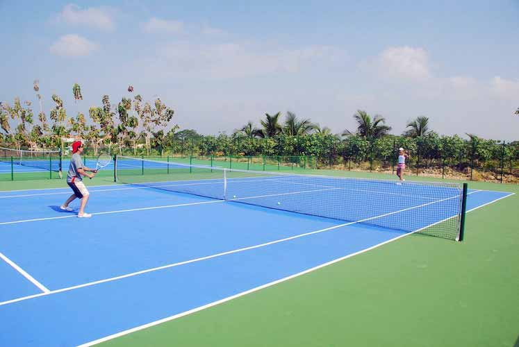 Canchas de Tenis Condominio Marina de Barú