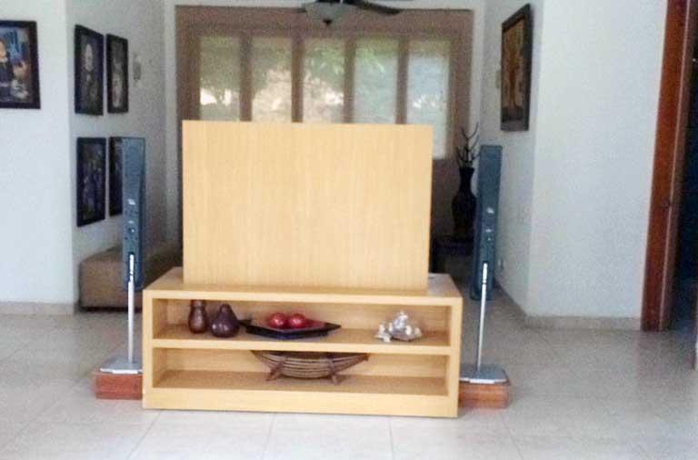 Mueble Tv Casa de lujo en Barú Colombia