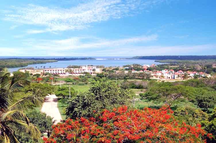 Vista Condominio Marina de Barú Cartagena Colombia