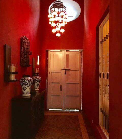 Entrada a Casa Colonial Cartagena de Indias