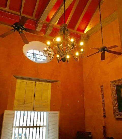 Techos altos en Casa Colonial