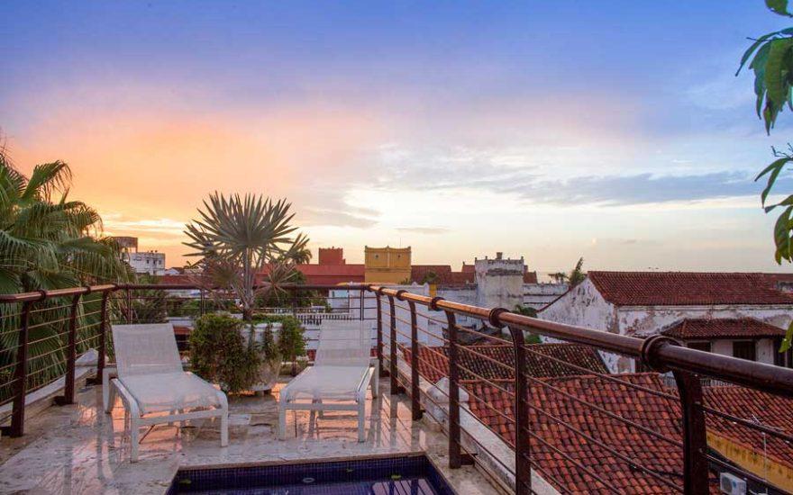 Terraza Mirador Cartagena de Indias