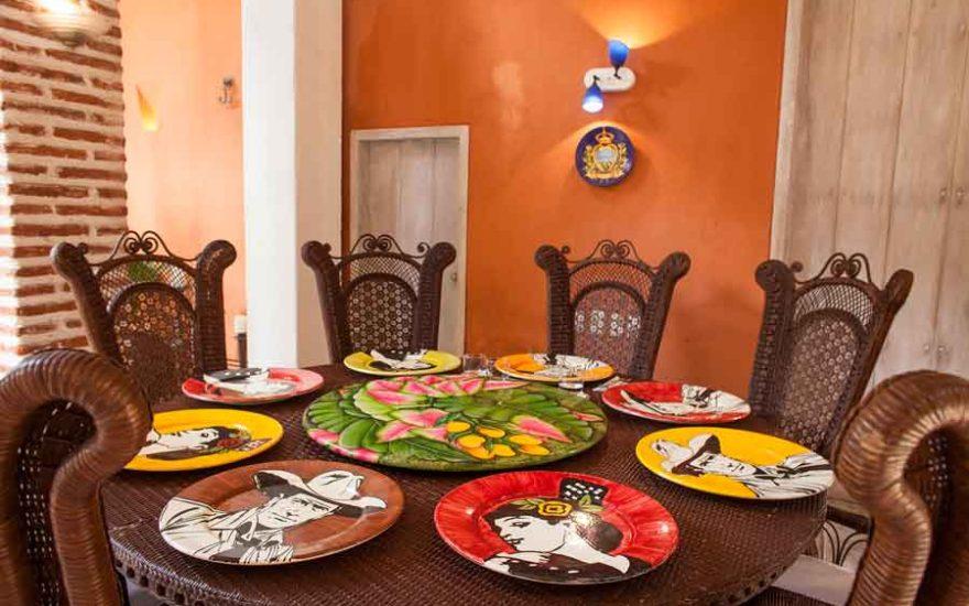 Vista de Comedor en Casa de lujo