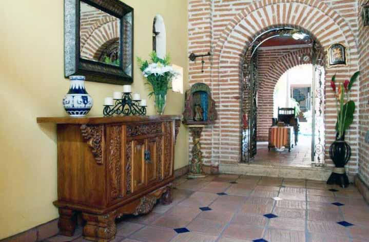 Entrada Principal Casa de lujo en Cartagena de Indias