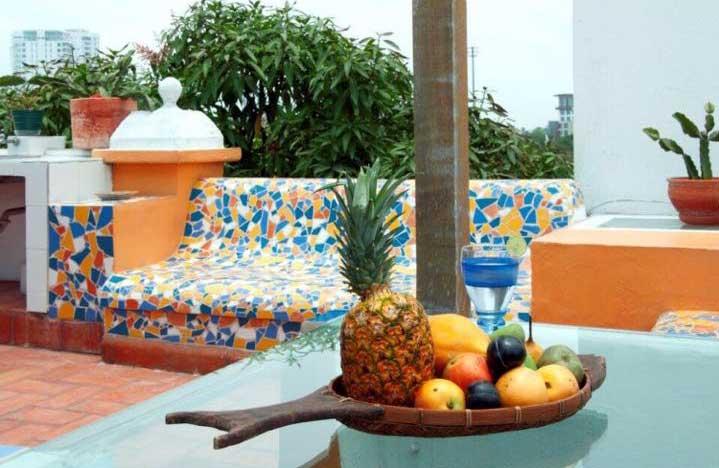 Vista Terraza casa lujosa Cartagena de Indias