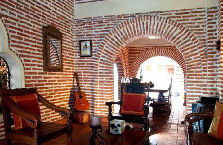Vista salon musical casa en cartagena