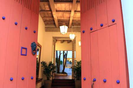 Puerta Entrada Casa Colonial Cartagena de Indias