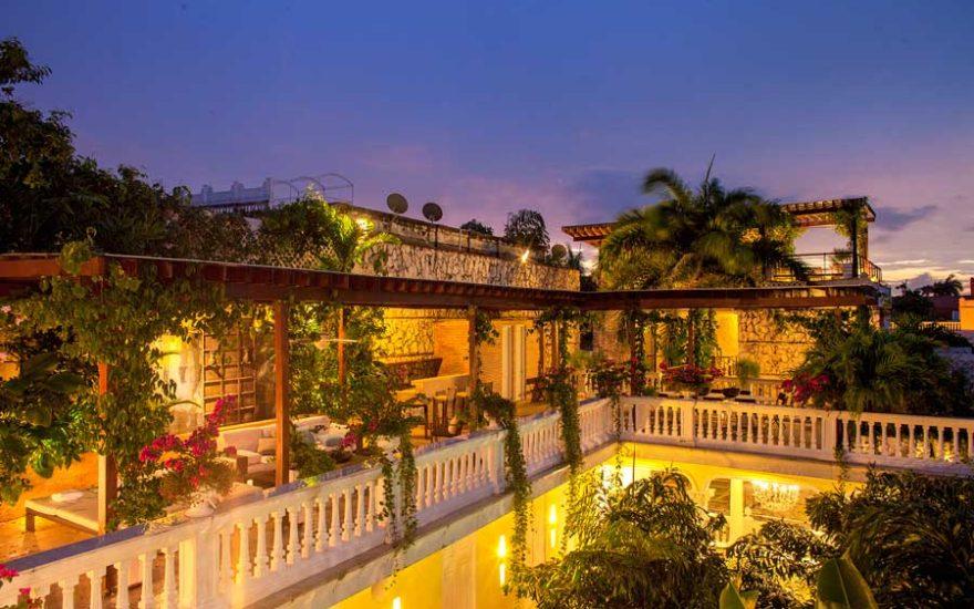 Terrazas con Jardín en Mansión de lujo en Cartagena