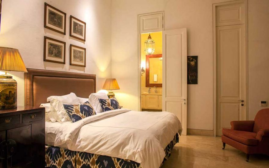 Habitación de lujo en Cartagena de Indias